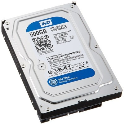 WD Blue 500GB Hard Disk (WD5000AZLX)