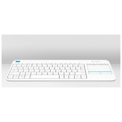 Logitech K400 Plus Touch Kablosuz Klavye - Beyaz (920-007150)