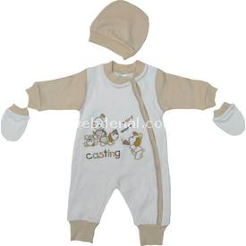 kardesler-5012-erkek-bebek-tulum-kahve-3-6-ay-62-68-cm