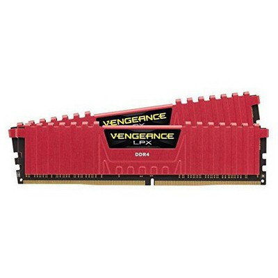 Corsair Vengeance LPX Red 2x8GB RAM (CMK16GX4M2B3200C16R)