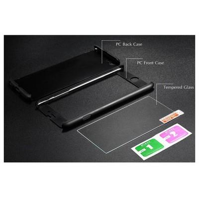 Microsonic Iphone 6 Kılıf Komple Full Gövde Koruma Siyah Cep Telefonu Kılıfı