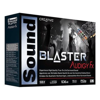 Creative 70sb157000001 Sound Blaster Audigy Fx 5.1 Pcıe Ses Kartı