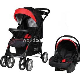 Sunny Baby 750 Yeni Royal Travel Bebek Arabası Kırmızı Travel Sistem Bebek Arabası
