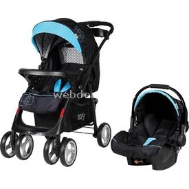 Sunny Baby 750 Yeni Royal Travel Bebek Arabası Mavi Travel Sistem Bebek Arabası