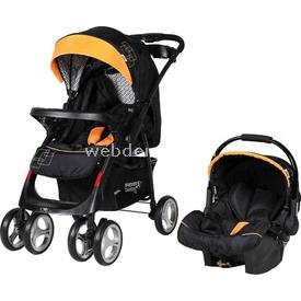 Sunny Baby 750 Yeni Royal Travel Bebek Arabası Sarı Travel Sistem Bebek Arabası