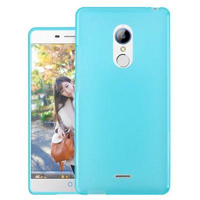 Microsonic Türk Telekom Tt175 Kılıf Transparent Soft Mavi Cep Telefonu Kılıfı