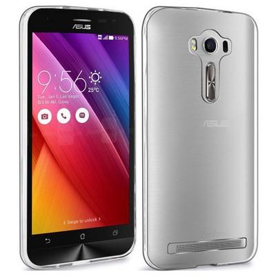 Microsonic Asus Zenfone 2 Laser 5.5 Inch Clear Soft Şeffaf Kılıf Cep Telefonu Kılıfı