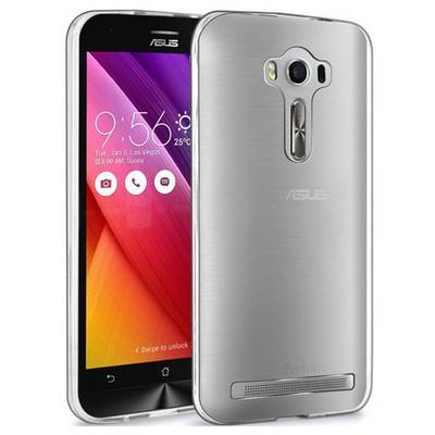 Microsonic Asus Zenfone 2 Laser 5.0 Inch Clear Soft Şeffaf Kılıf Cep Telefonu Kılıfı