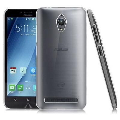 Microsonic Asus Zenfone Go Kılıf Kristal Şeffaf Cep Telefonu Kılıfı