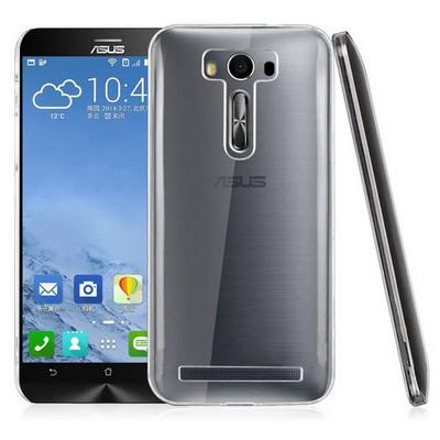 Microsonic Asus Zenfone 2 Laser 5.5 Inch Kılıf Kristal Şeffaf Cep Telefonu Kılıfı