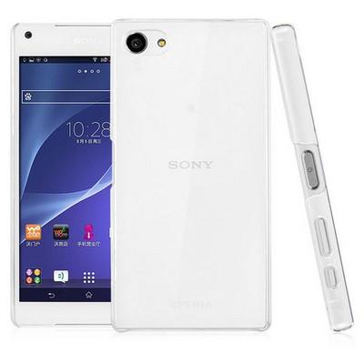 Microsonic Sony Xperia Z5 Compact Kılıf Kristal Şeffaf Cep Telefonu Kılıfı