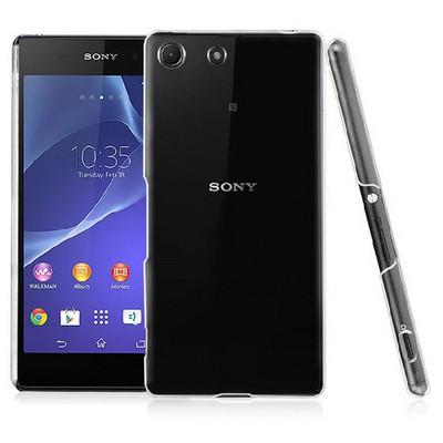 Microsonic Sony Xperia M5 Kılıf Kristal Şeffaf Cep Telefonu Kılıfı