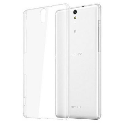 Microsonic Sony Xperia C5 Ultra Kılıf Kristal Şeffaf Cep Telefonu Kılıfı