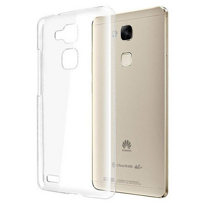 Microsonic Huawei Ascend Mate 7 Kılıf Kristal Şeffaf Cep Telefonu Kılıfı