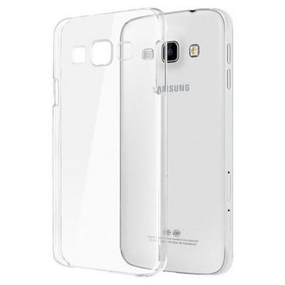 Microsonic Samsung Galaxy A8 Kılıf Kristal Şeffaf Cep Telefonu Kılıfı