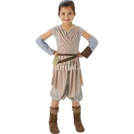 Rubies Star Wars Episode 7 Rey Kostüm Lüks 5-6 Yaş Kostüm & Aksesuar