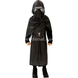 Rubies Star Wars Episode 7 Kylo Ren Kostüm Lüks 7-8 Yaş Kostüm & Aksesuar