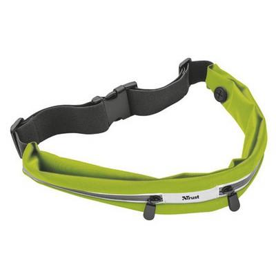 Trust 20876 Cintus Akıllı Telefonlar İçin Spor Bel Kemeri-Yeşil Cep Telefonu Aksesuarı