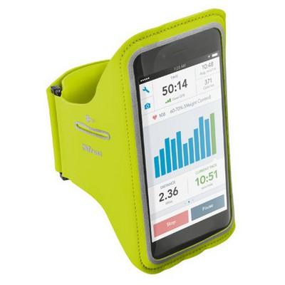 Trust Urban 20896 iPhone 6/6s Plus İçin Spor Kol Bandı -Yeşil Cep Telefonu Kılıfı