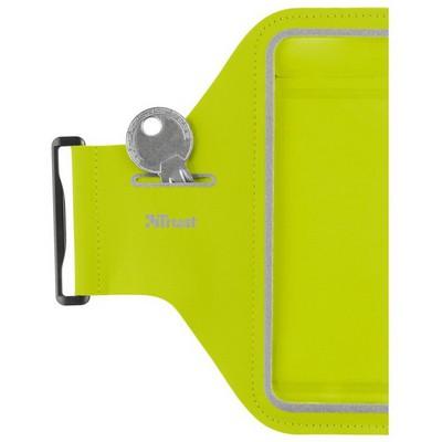 Trust 20886 Bracus iPhone 6/6S İçin Spor Pazu Bandı-Yeşil Cep Telefonu Kılıfı