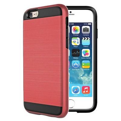 Microsonic Iphone 6s Plus Kılıf Slim Heavy Duty Kırmızı Cep Telefonu Kılıfı