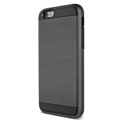 Microsonic Iphone 6s Plus Kılıf Slim Heavy Duty Siyah Cep Telefonu Kılıfı