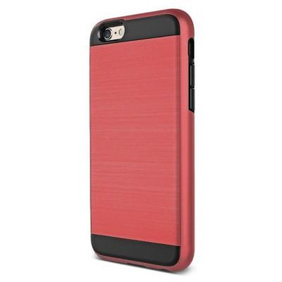 Microsonic Iphone 6s Kılıf Slim Heavy Duty Kırmızı Cep Telefonu Kılıfı