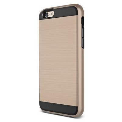 Microsonic Iphone 6s Kılıf Slim Heavy Duty Gold Cep Telefonu Kılıfı