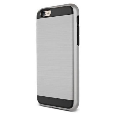 Microsonic Iphone 6s Kılıf Slim Heavy Duty Gümüş Cep Telefonu Kılıfı