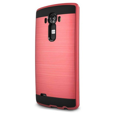 Microsonic Lg G4 Kılıf Slim Heavy Duty Kırmızı Cep Telefonu Kılıfı