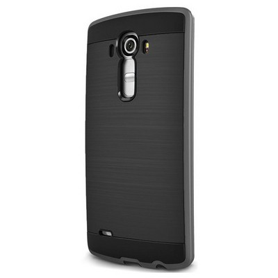 Microsonic Lg G4 Kılıf Slim Heavy Duty Siyah Cep Telefonu Kılıfı