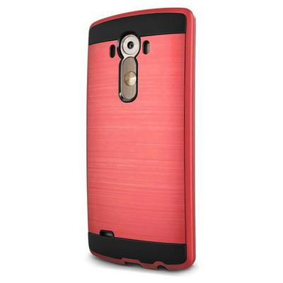 Microsonic Lg G3 Kılıf Slim Heavy Duty Kırmızı Cep Telefonu Kılıfı