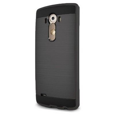 Microsonic Lg G3 Kılıf Slim Heavy Duty Siyah Cep Telefonu Kılıfı