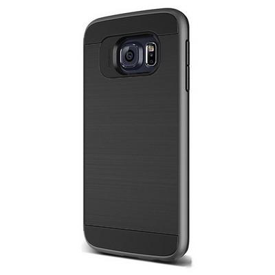 Microsonic Samsung Galaxy S6 Edge Kılıf Slim Heavy Duty Siyah Cep Telefonu Kılıfı