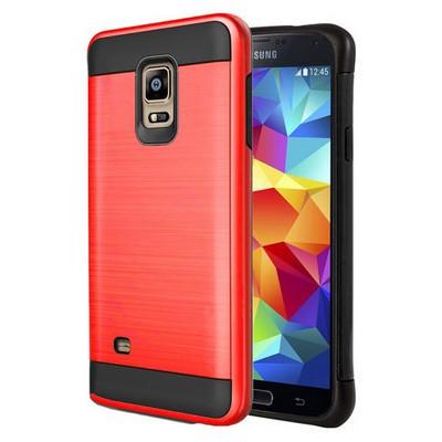 Microsonic Samsung Galaxy S5 Kılıf Slim Heavy Duty Kırmızı Cep Telefonu Kılıfı