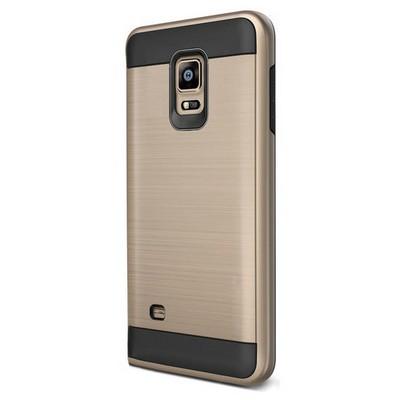 Microsonic Samsung Galaxy S5 Kılıf Slim Heavy Duty Gold Cep Telefonu Kılıfı
