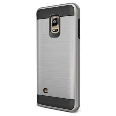 Microsonic Samsung Galaxy S5 Kılıf Slim Heavy Duty Gümüş Cep Telefonu Kılıfı