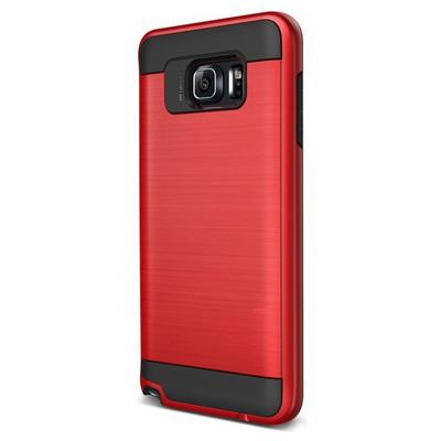 Microsonic Samsung Galaxy Note 5 Kılıf Slim Heavy Duty Kırmızı Cep Telefonu Kılıfı