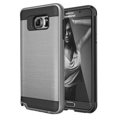 Microsonic Samsung Galaxy Note 5 Kılıf Slim Heavy Duty Gümüş Cep Telefonu Kılıfı