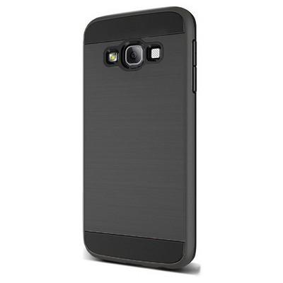 Microsonic Samsung Galaxy A7 Kılıf Slim Heavy Duty Siyah Cep Telefonu Kılıfı