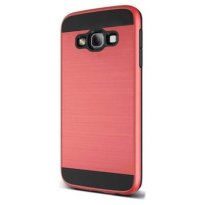 Microsonic Samsung Galaxy A5 Kılıf Slim Heavy Duty Kırmızı Cep Telefonu Kılıfı