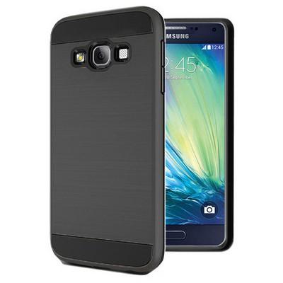 Microsonic Samsung Galaxy A5 Kılıf Slim Heavy Duty Siyah Cep Telefonu Kılıfı