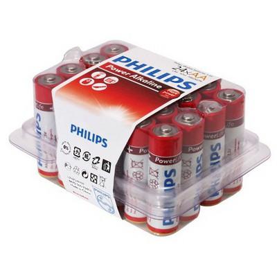 Philips Lr03p24p-97 Lr03p24p/97 Aaa 24 Lü Alkalin Ince Kalem Pil Pil / Şarj Cihazı