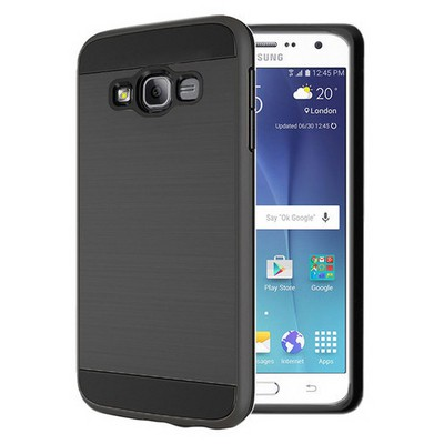 Microsonic Samsung Galaxy On7 Kılıf Slim Heavy Duty Siyah Cep Telefonu Kılıfı