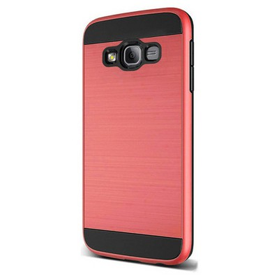 Microsonic Samsung Galaxy On5 Kılıf Slim Heavy Duty Kırmızı Cep Telefonu Kılıfı