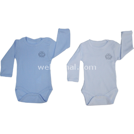 Bebetto Bbt-t857 Ribana 2 Li Bady Uzun Kollu Beyaz-mavi 12-18 Ay (80-86 Cm) Erkek Bebek Body