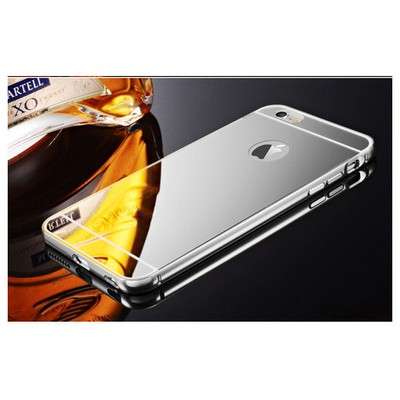 Microsonic Iphone 6s Plus Kılıf Luxury Mirror Gümüş Cep Telefonu Kılıfı