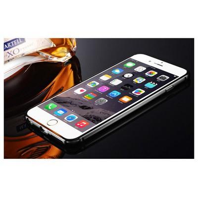 Microsonic Iphone 6s Plus Kılıf Luxury Mirror Siyah Cep Telefonu Kılıfı