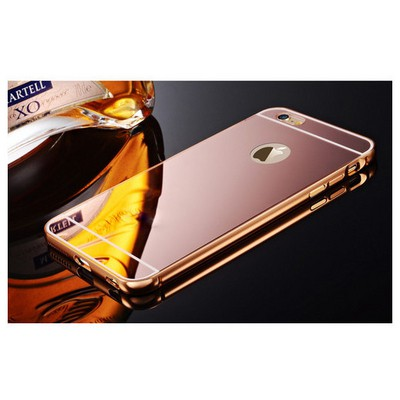Microsonic Iphone 6 Kılıf Luxury Mirror Rose Gold Cep Telefonu Kılıfı
