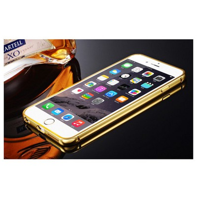 Microsonic Iphone 6 Kılıf Luxury Mirror Gold Cep Telefonu Kılıfı